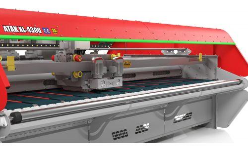 ATAK XL 4300  Автоматическая конвеерная машина для стирки ковров