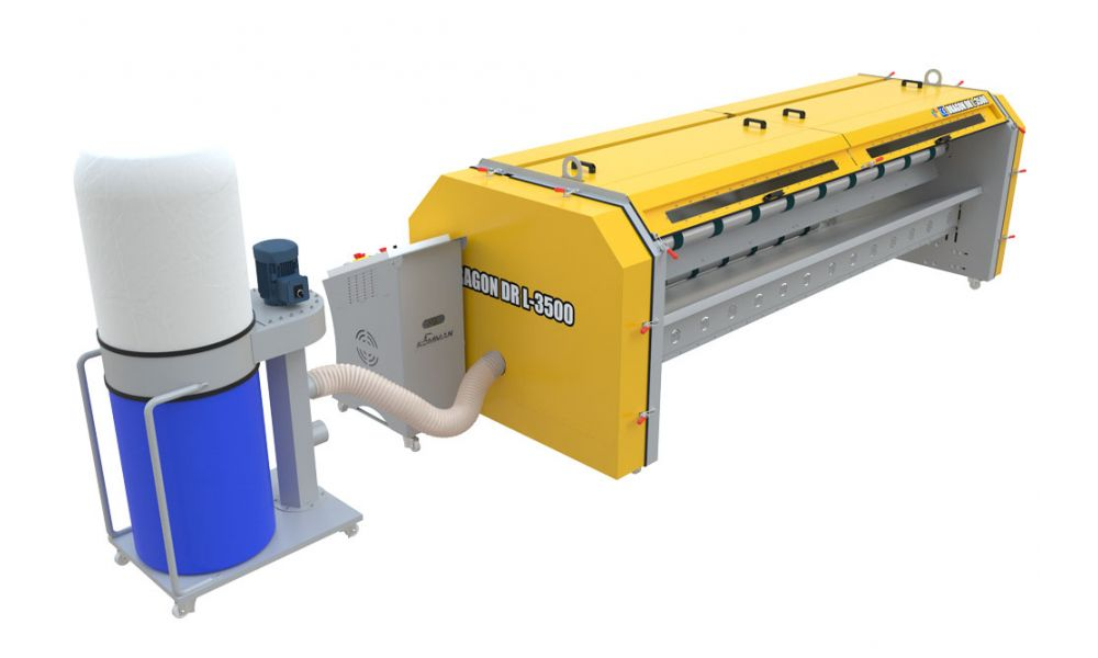 Автоматическая пылевыбивалка для ковров DR 3500