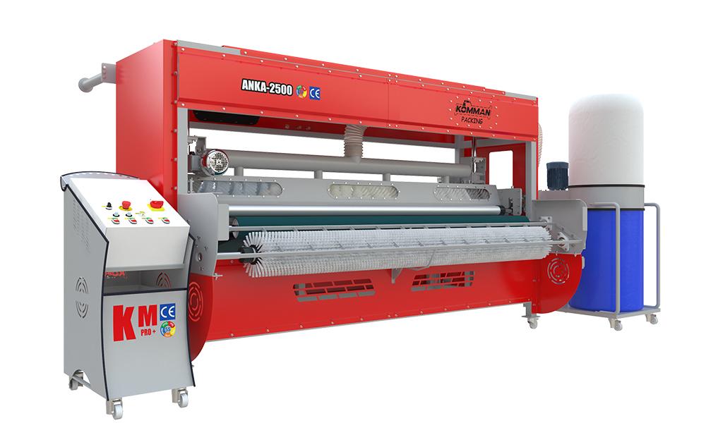 Машина для поднятия ворса и упаковки ковра ANKA 2500